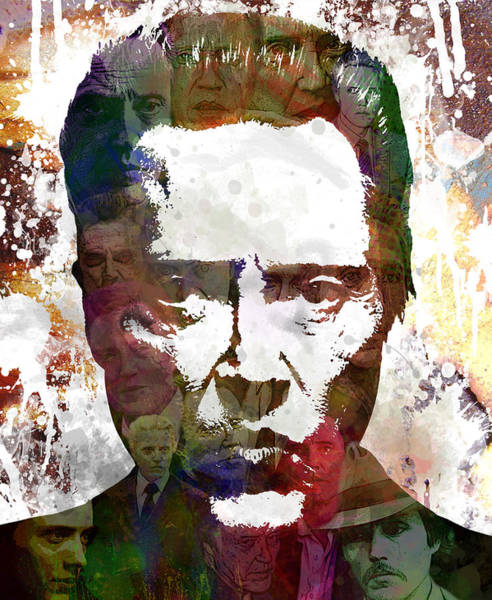 Obey Painting - The Walken by Bobby Zeik