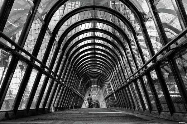 Tunnel Photograph - The Walker by