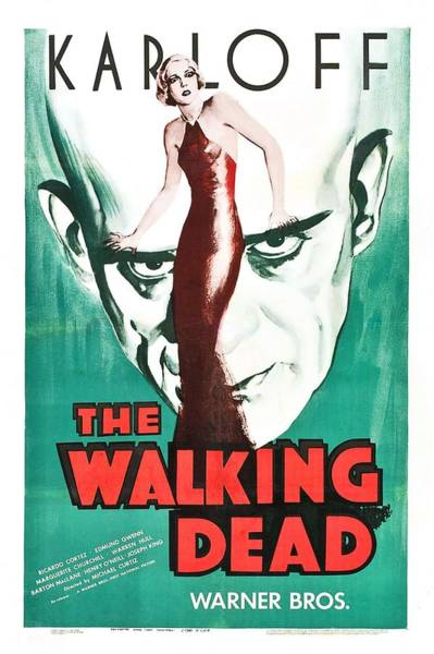 Film Star Photograph - The Walking Dead Poster by Gianfranco Weiss