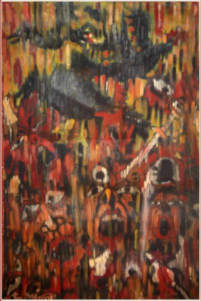 Kannan Painting - The War Ends by Sooraj Kannan