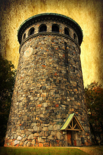 Digital Art - The Watch Tower by Trina  Ansel