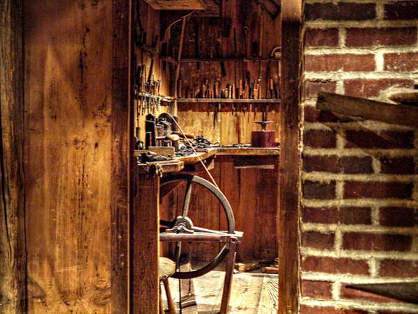 Photograph - The Watchmaker's Room by Richard Reeve