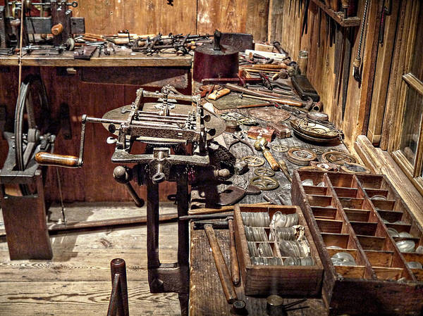 Photograph - The Watchmaker's Tools by Richard Reeve