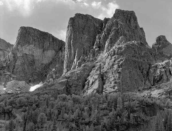 Photograph - 209619-bw-the Watchtower, Wind Rivers by Ed  Cooper Photography
