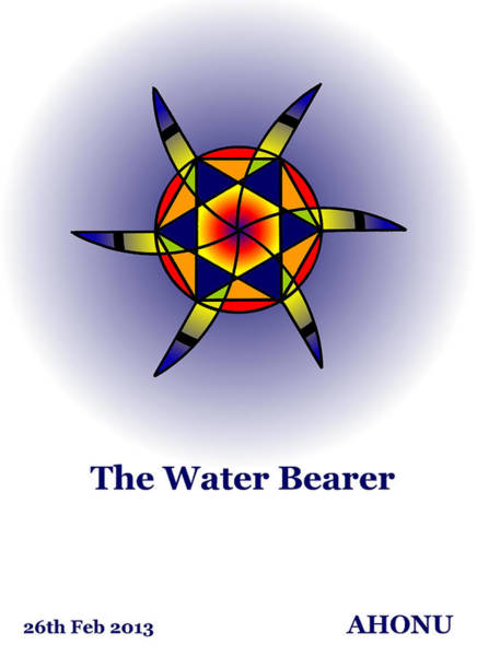 Painting - The Water Bearer by Ahonu
