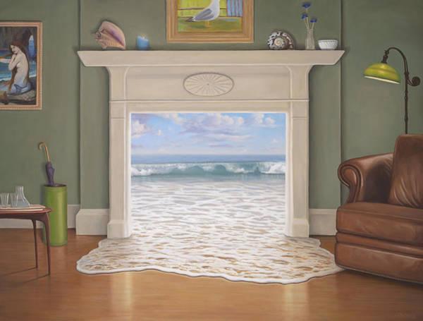 Idealism Wall Art - Painting - The Waterhouse by Paul Bond