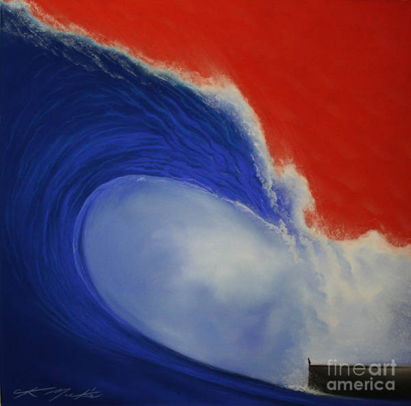 Painting - The Wave II by CK Mackie