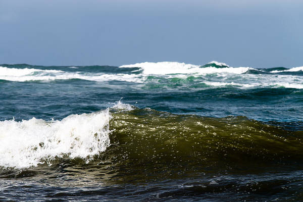 Photograph - The Waves by Michael Goyberg