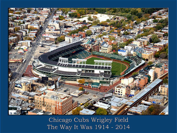Jon Lester Photograph - The Way It Was Chicago Cubs Wrigley Field 03 by Thomas Woolworth