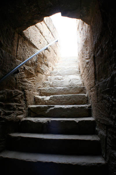 El Jem Photograph - The Way Up by Jon Emery