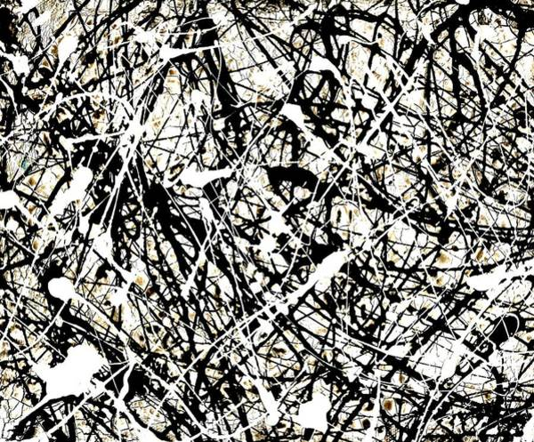 Blanco Y Negro Wall Art - Painting - The Web By Laura Gomez by Laura  Gomez