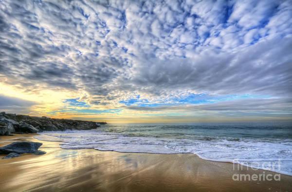 Photograph - The Wedge - Newport Beach by Eddie Yerkish