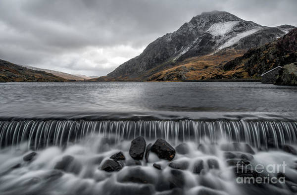 Snowdonia Wall Art - Photograph - The Weir by Adrian Evans