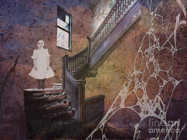 Victorian House Digital Art - The Welcomer by Maureen Tillman