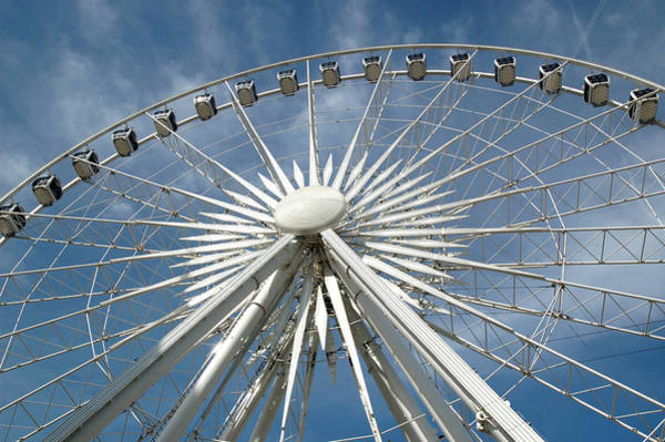 Photograph - The Wheel Of Sheffield In Downtown Sheffield. Yorkshire England by Rob Huntley