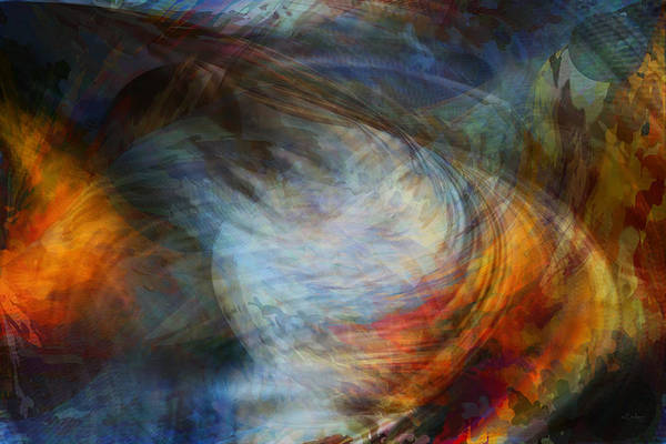 Digital Art - The Whirlwind by rd Erickson