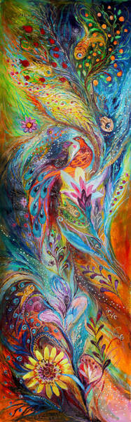 Kabbalistic Wall Art - Painting - The Whisper Of Dream by Elena Kotliarker