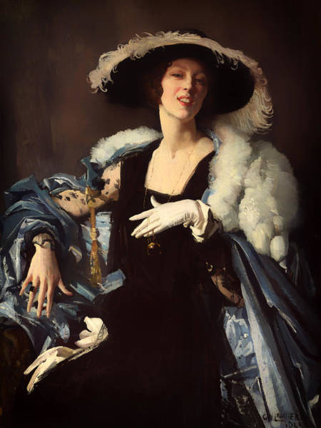 Boa Painting - The White Glove by Mountain Dreams