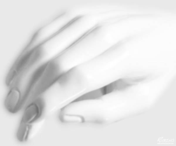 Photograph - The White Hand by Tony Rubino