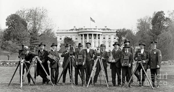 Wall Art - Photograph - The White House Photographers by Jon Neidert