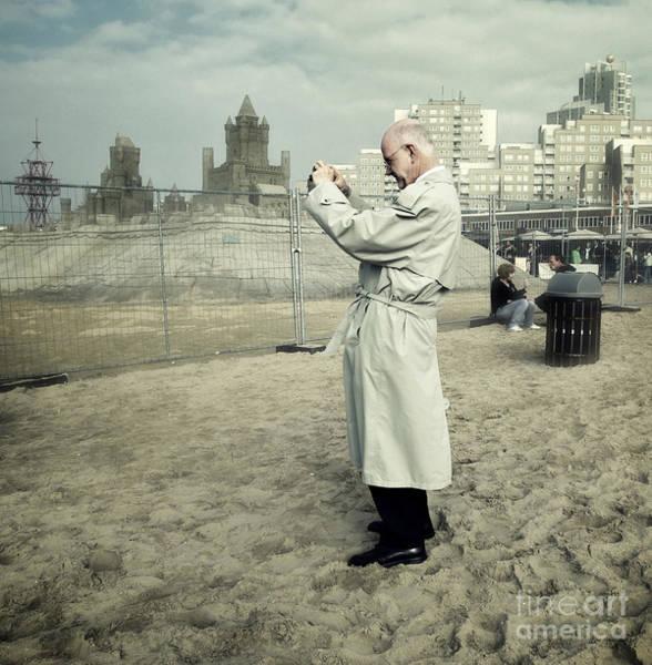 Scheveningen Photograph - The White Knight by Michel Verhoef