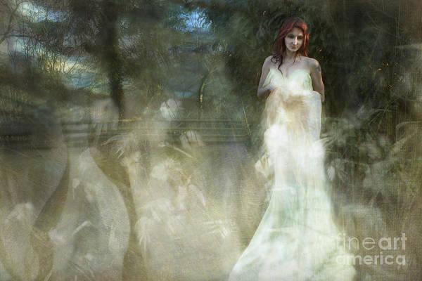 Wall Art - Photograph - The White Witch by Angel Ciesniarska