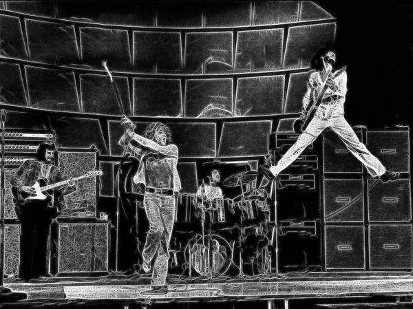 The Who - A Pencil Study - Designed By Doc Braham Art Print