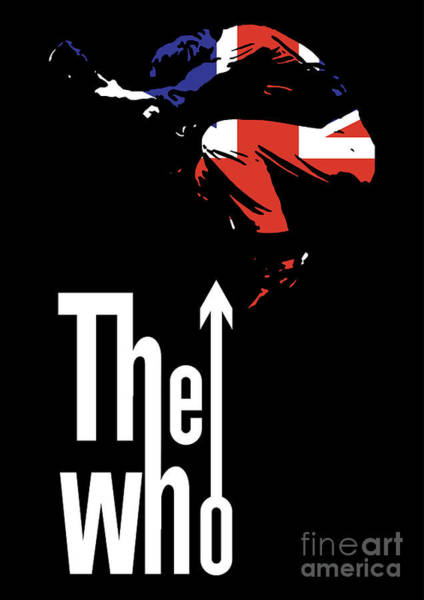 England Digital Art - The Who No.01 by Geek N Rock
