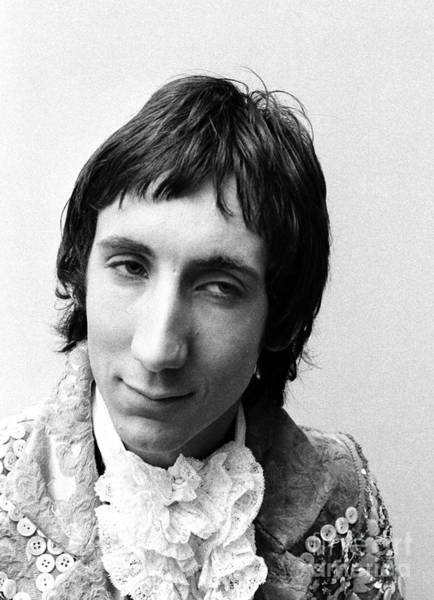 Chris Walter Wall Art - Photograph - The Who Pete Townshend 1967 by Chris Walter