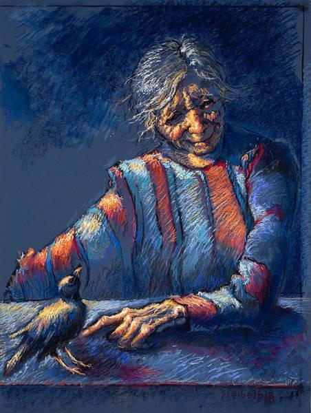 Painting - The Widow's Friend by Ellen Dreibelbis