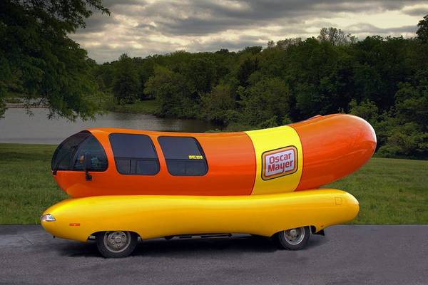 Photograph - The Wienermobile by Tim McCullough