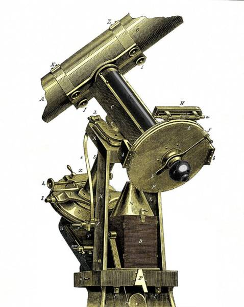Astronomer Photograph - The Wilna Photo-heliograph by Sheila Terry