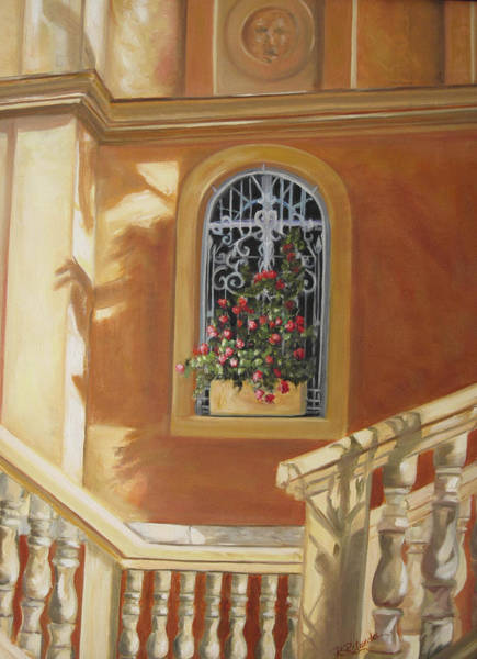 Painting - The Window Box by Roberta Rotunda