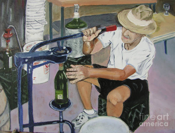 The Wine Maker Art Print