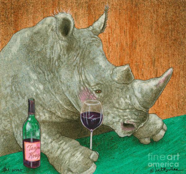 The Wino... Art Print