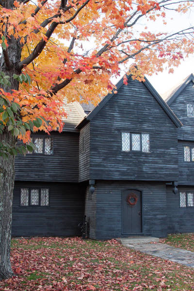 Photograph - The Witch House Of Salem by Jeff Folger