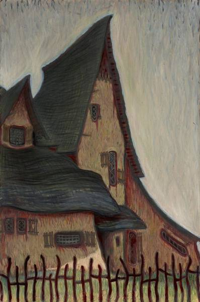 Painting - The  Witches House  by John Reynolds