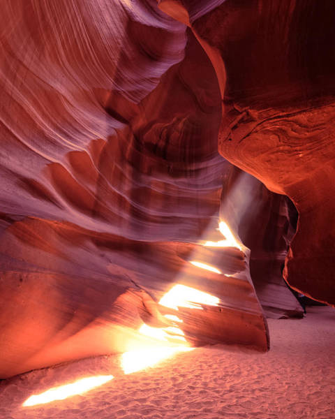 Wall Art - Photograph - The Wizard Of Antelope Canyon Navajo Nation Page Arizona by Silvio Ligutti