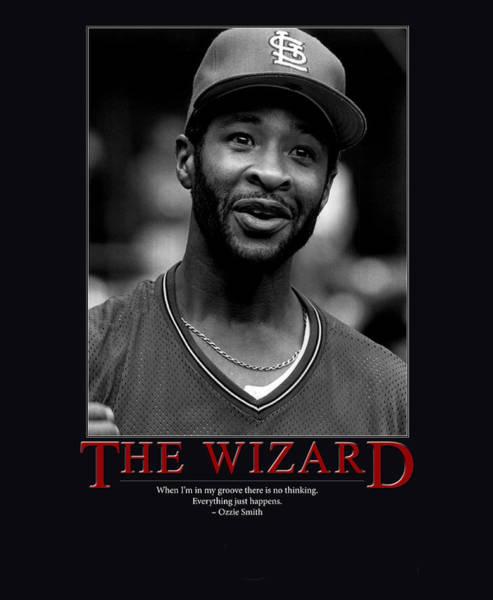 The Wizard Ozzie Smith Art Print