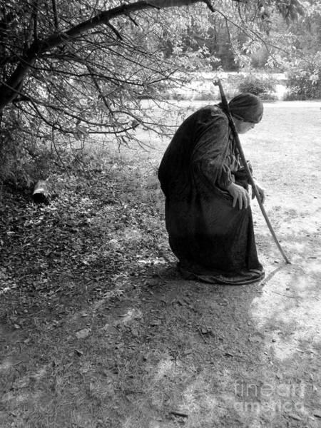Photograph - Medieval Wizard  by Susan Carella
