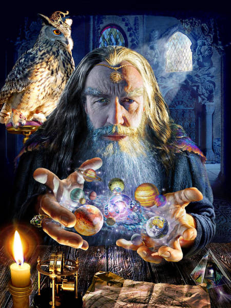Wise Photograph - The Wizards World by MGL Meiklejohn Graphics Licensing