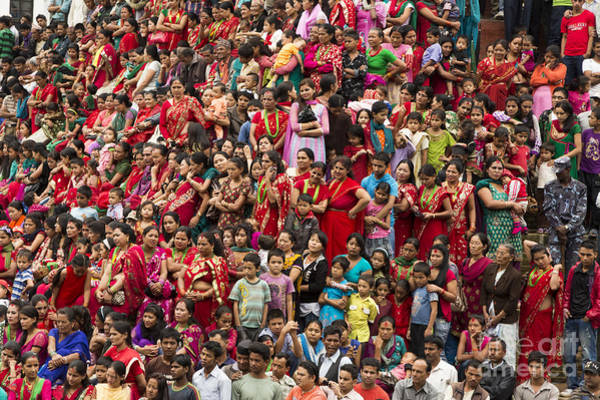 Photograph - The Women Of Kathmandu by Didier Marti