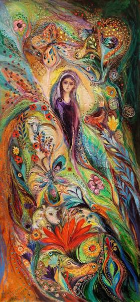 Wall Art - Painting - The Women Of Tanakh Story Of Rachel by Elena Kotliarker