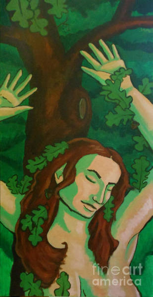 Painting - The Wooded Woman by Whitney Morton