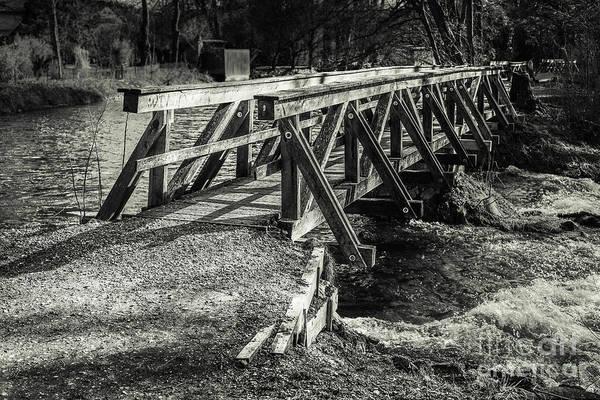 Photograph - The Wooden Bridge by Hannes Cmarits