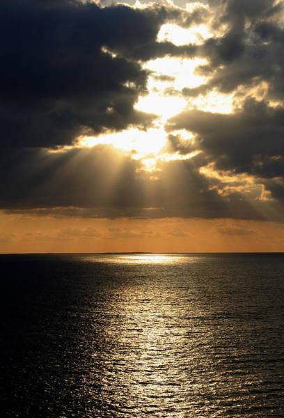 Photograph - Key West Sunset The Word by Bob Slitzan