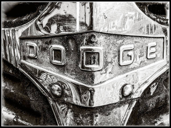 Photograph - 1940 Dodge Grill by Roxy Hurtubise