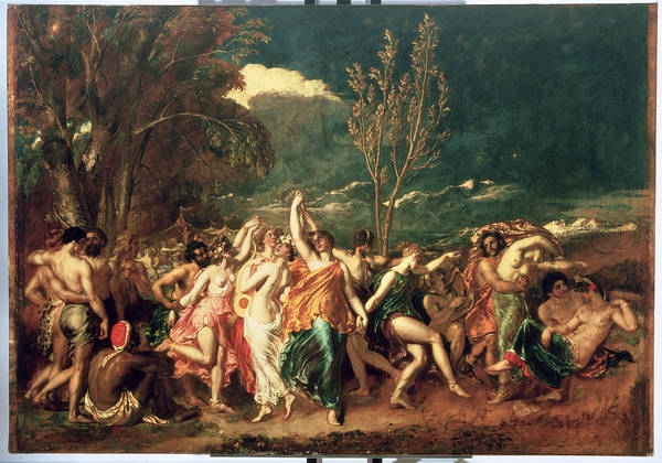 Pagan Wall Art - Painting - The World Before The Flood by William Etty
