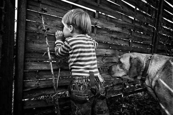 Secret Photograph - The World From Behind The Fence by Monika Strzelecka