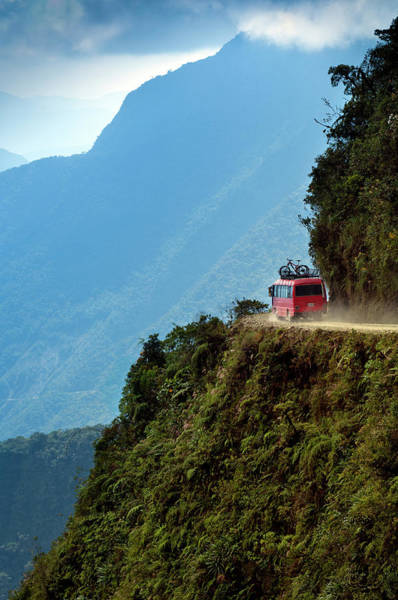 Bolivia Photograph - The Worlds Most Dangerous Road, Bolivia by John Coletti